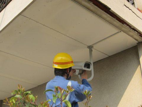 熊本地場企業様 監視カメラ設置